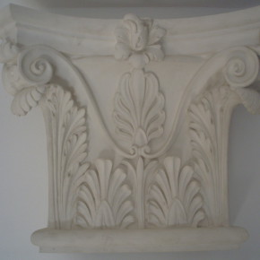 Capitello bramantesco in stucco. Capitelli: Rif. 506