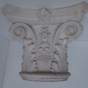 Capitello bramantesco in stucco. Capitelli: Rif. 511