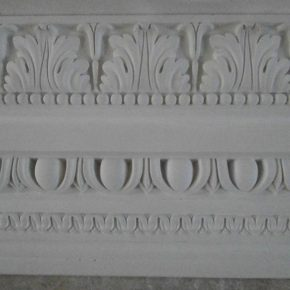 Cornice in stucco decorata. Cornici: Rif. 320