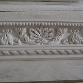 Cornice in stucco decorata. Cornici: Rif. 327
