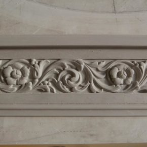 Cornice in stucco decorata. Cornici: Rif. 328