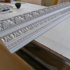 Cornice in stucco decorata. Cornici: Rif. 330